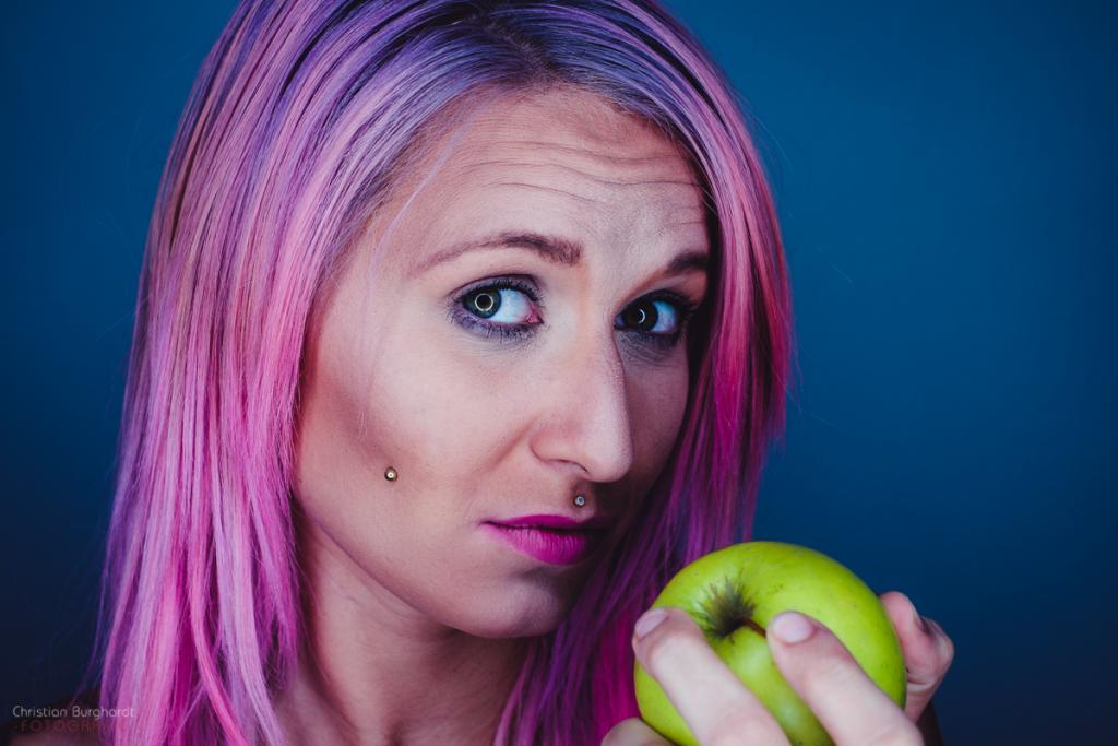 Stefanie und der Apfel