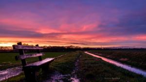 Sonnenuntergang Bensheim