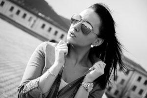 Carmen - black and white | Portrait | Fujifilm | X-T1 | 35mm