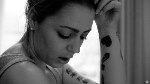 Sabrina - black and white | Dortmund | Portrait | Fujifilm | X-T1 | 35mm