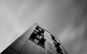 Building - black and white - Gersthofen | Fujifilm | X-T1 | 12mm